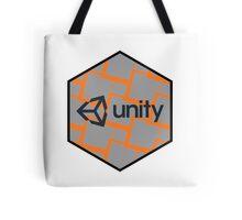 unity 3D render hexagonal hexagon design Tote Bag