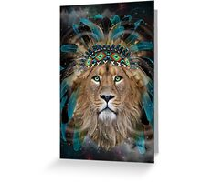 Fight For What You Love (Chief of Dreams: Lion)  Greeting Card