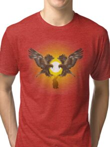 Golden Eagles diving Tri-blend T-Shirt