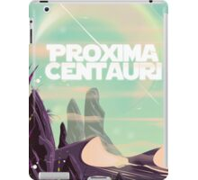 Proxima Centauri science fiction travel poster. iPad Case/Skin