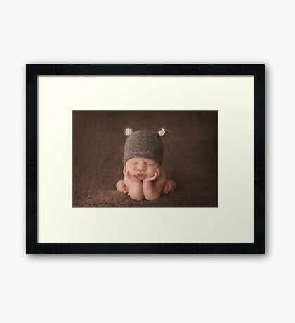 Matthew ~ 23 days Framed Print