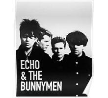 ECHO & THE BUNNYMEN Album Cover Poster