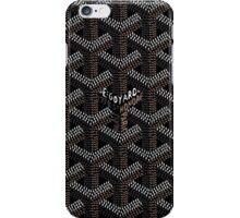 Goyard Perfect phone Case Black iPhone Case/Skin