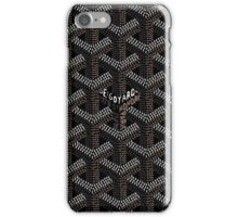 Goyard Perfect phone Case Black iPhone Case/Skin