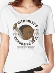 Hitmonlee Kickboxing Dojo Women's Relaxed Fit T-Shirt