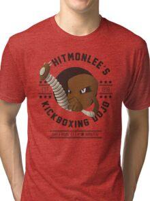 Hitmonlee Kickboxing Dojo Tri-blend T-Shirt
