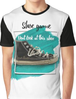 Shoe Game Graphic T-Shirt