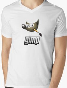 gimp design software image edition Mens V-Neck T-Shirt