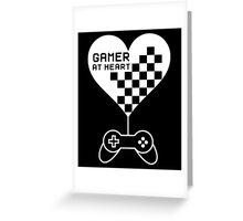 Gamer at Heart Greeting Card