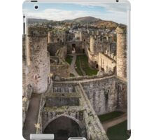 Conwy Castle Panorama iPad Case/Skin