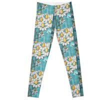 European daisy Leggings