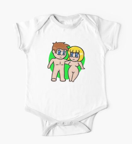 Meet Chibi Buffy and Norman (Bits) One Piece - Short Sleeve