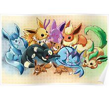 pokemon: eevee and it's evolutions  Poster