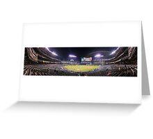 Safeco Night Panorama Greeting Card