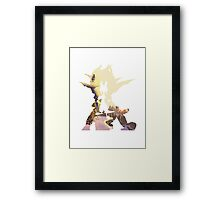 Jak and Daxter - Snowy Mountain Framed Print