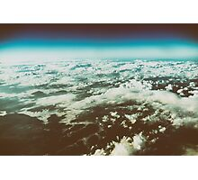 Earth Photo From 10.000m (32.000 feet) Above Ground Photographic Print