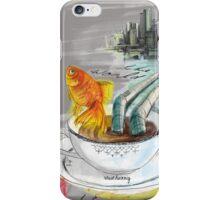 Schützt das Meer vor Müll iPhone Case/Skin