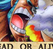 One Piece Bounty - Franky Sticker