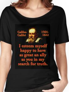 I Esteem Myself Happy - Galileo Women's Relaxed Fit T-Shirt