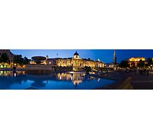 National Gallery Night Panorama Photographic Print