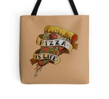 Pizza is Life Tote Bag