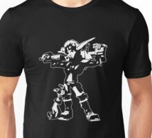 Jak and Daxter - Jak 2 White Silhouette Unisex T-Shirt
