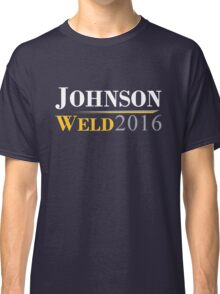 Johnson Weld Campaign Logo Classic T-Shirt