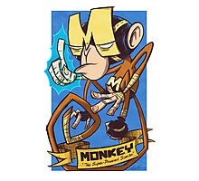 Dial M for Monkey Haymaker Photographic Print