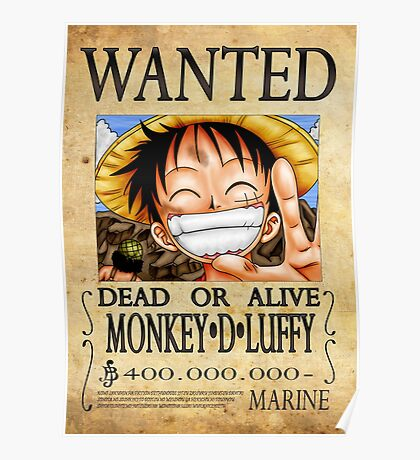 One Piece Bounty - Luffy Poster