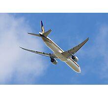 777 Overhead Photographic Print