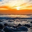 serene rocky beal beach by morrbyte