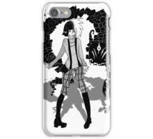 Grey Plaid iPhone Case/Skin