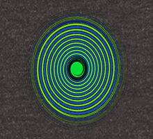 green and blu spiral Unisex T-Shirt