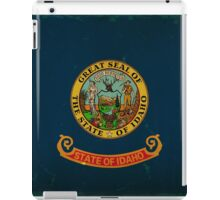 Idaho State Flag VINTAGE iPad Case/Skin