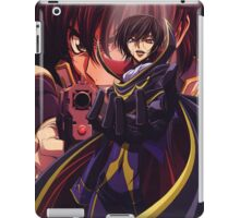 Code Geass Lelouch Anime iPad Case/Skin