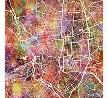 Madrid map Photographic Print