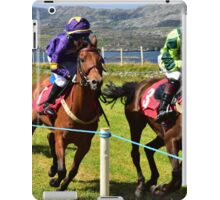 A day at the races iPad Case/Skin