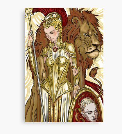 Virginia-Minerva Canvas Print