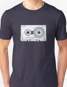 Audio cassette cutaway Unisex T-Shirt