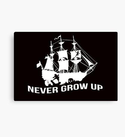 Peter Pan - Never grow up Canvas Print