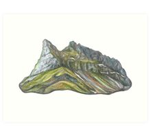 Mountain Alkhornet on Svalbard Art Print
