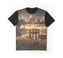 view over new york city Graphic T-Shirt