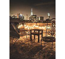 view over new york city Photographic Print