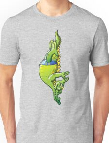 Diving Crocodile Unisex T-Shirt