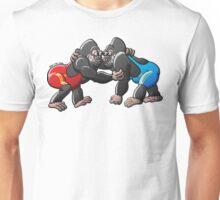 Wrestling Gorillas Unisex T-Shirt