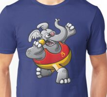 Shot Put Elephant Unisex T-Shirt