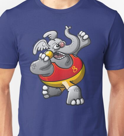 Shot Put Elephant Unisex T-Shirt