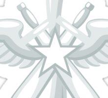 Retro air-force insignia Sticker