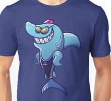 Swimmer Shark Unisex T-Shirt