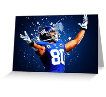 Victor Cruz Greeting Card